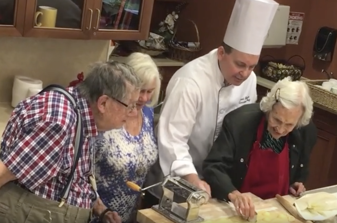 Enriching activities assisted living
