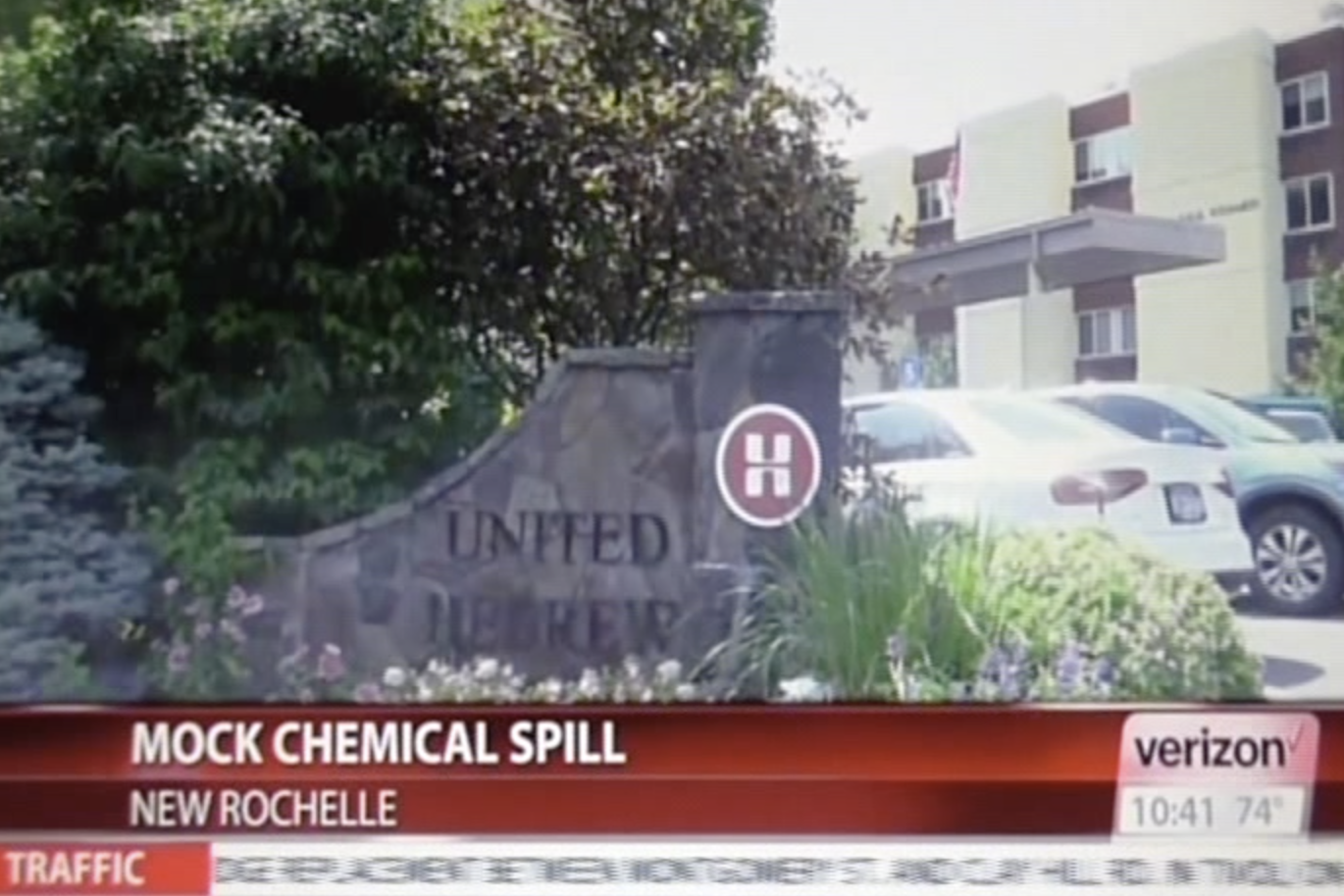 Mock chemical spill staged at United Hebrew's nursing home in New Rochelle