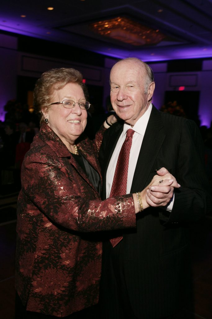 Pat and Malcom Lazarus