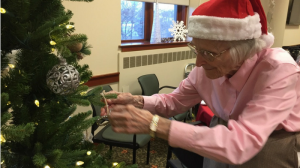Christmas at assisted living.
