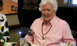 Centenarian, long life, assisted living