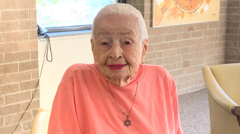 105-year-old Sylvia Sabat