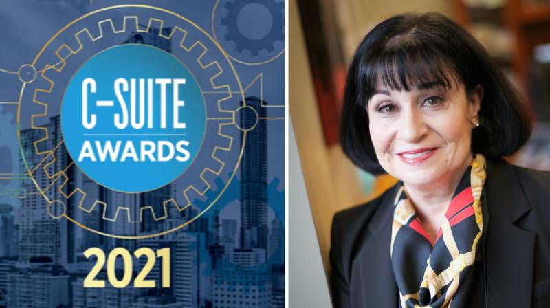 Rita Mabli honored with C-Suite Award